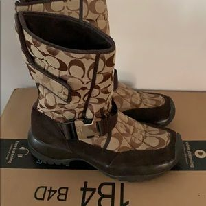 Coach sharron winter boots